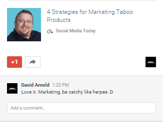 Marketing - be catchy like herpes