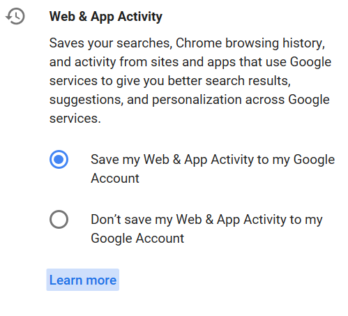 Having a Google account hands you indentity to Google